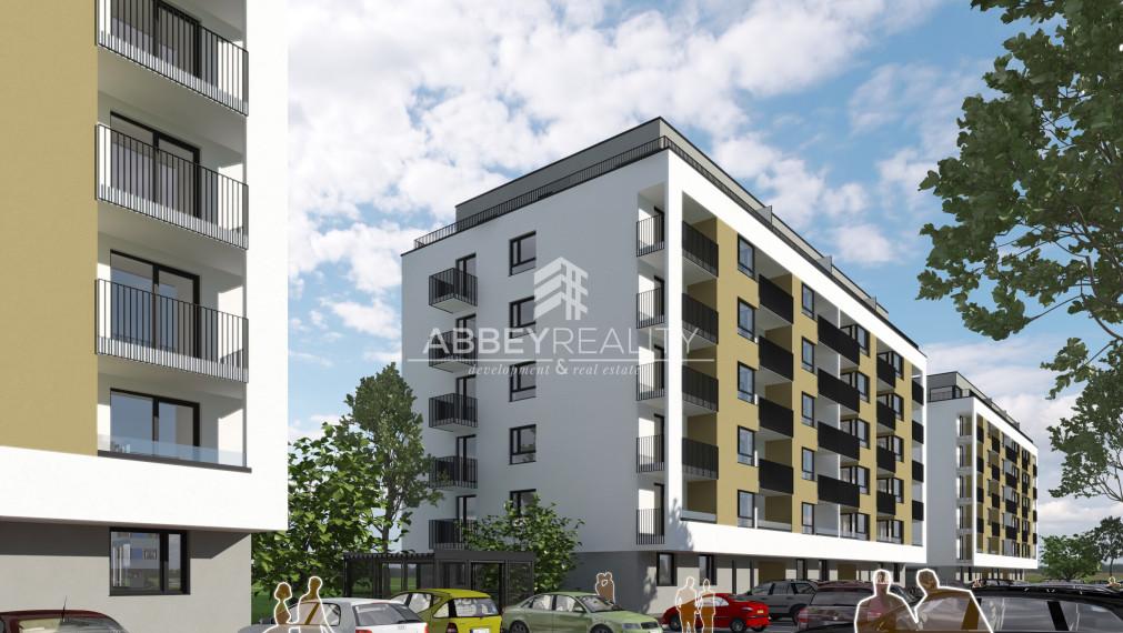 Predpredaj 3- izbového bytu vo WEST v Galante A.4.2 Bytový dom K