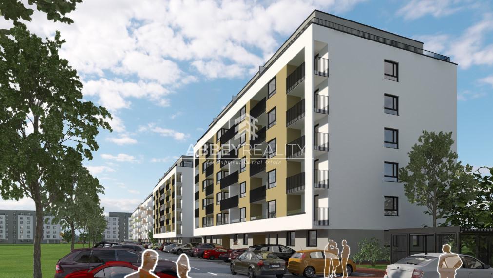 NOVOSTAVBA 2-izbový byt v komplexe WEST - Galanta B.3.4 Bytový dom I - rezervovaný